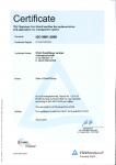 ISO 9001 englisch